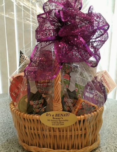 gift basket made by benay