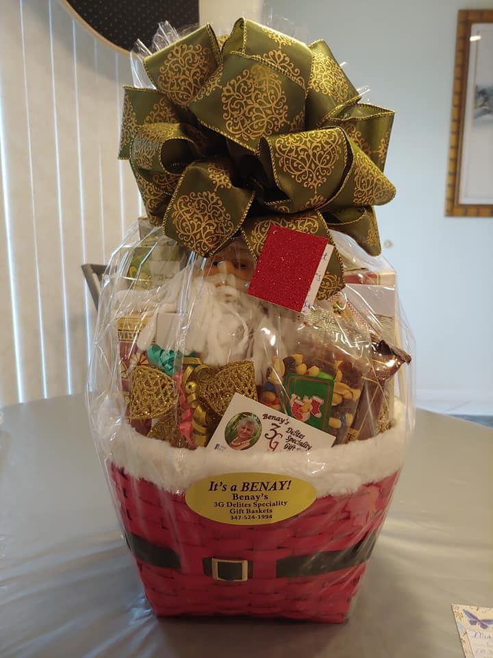 gift basket made by benay